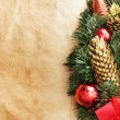 Christmas decoration. vintage background. — Stock Photo #5135539