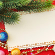 Christmas decoration. vintage background. — Stockfoto