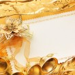 Christmas decoration. vintage background. — Stock Photo #5136220