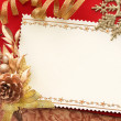 Christmas decoration. vintage background. — Photo