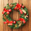 Christmas wreath — Stock Photo #5136523
