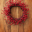 Christmas wreath — Stock Photo #5136574