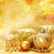 Christmas decoration. vintage background. — Stock Photo #5136765