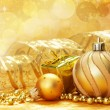 Christmas decoration. vintage background. — Stock Photo #5136795