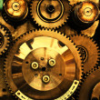 View of gears from old mechanism — Stockfoto