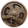 View of gears from old mechanism — Stock Photo #5138768