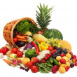 Fresh Vegetables, Fruits and other foodstuffs. — Stock Photo #5140046