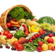 Foto de Stock  : Fresh Vegetables, Fruits and other foodstuffs.