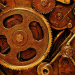 Gears from mechanism — Stock Photo #5145717
