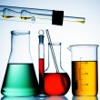 Laboratory glassware - Stock Photo