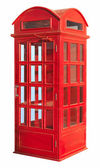 The British red phone booth — Stock Photo