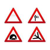 знаки дорожного движения — Cтоковый вектор
