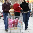 Family in shop — Stock Photo #3538238