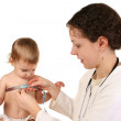 Doctor with baby 3 — Stock Photo