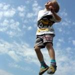 Child jump — Stock Photo #3539635