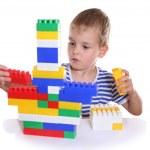 Child with toy blocks — Stock Photo #3539958