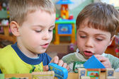 Children in kindergarten — Stock Photo