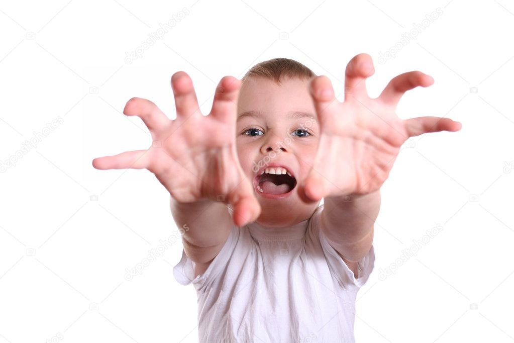 Horror boy 2 — Stock Photo #3539924