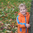 Autumn child — Stock Photo #3540022