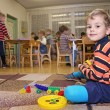 Stock Photo: Child play in kindergarten