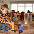 Child in kindergarten 2 — Stock Photo #3540279