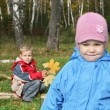 Stock Photo: Children in mood