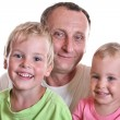 Grandfather with children — Stock Photo #3540575