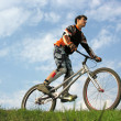Mountain Biker — Stock Photo #3540636