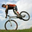 Bike trick — Stock Photo #3540641