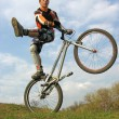 Bike trick 2 — Stock Photo #3540643