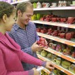 Stock Photo: Couple in shop