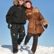 Winter couple — Stock Photo #3540765