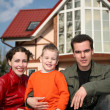 Family and house — Stock Photo #3541028