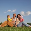 Mothers with children 2 — Stock Photo