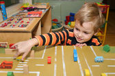 Child play in kindergarten — Stock Photo