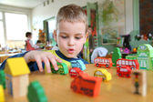Child in kindergarten — Stock Photo