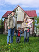 Familia y hogar. primavera — Foto de Stock