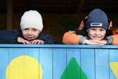 Niños felices en el kinder — Foto de Stock