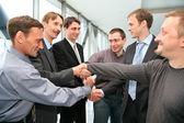 Business handshake — Stock Photo