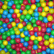 Pool of color balls — Stock Photo