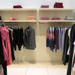 Foto de Stock  : Clothes in shop