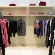 Clothes in shop — Stock fotografie