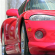 Stock Photo: Red sport car