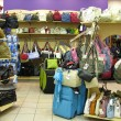 Bags in shop - Stockfoto
