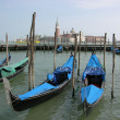 Venice gondolas — Stock Photo #3642382