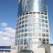 Car and office building - Stock Photo