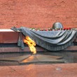 Grave of Unknown soldier of Second World War. Kremlin wall. Moscow. - Stock Photo