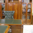 Stock Photo: Cabinet library
