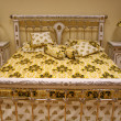 Stock Photo: Luxurious bed