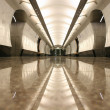 Empty subway station floor — Stock Photo